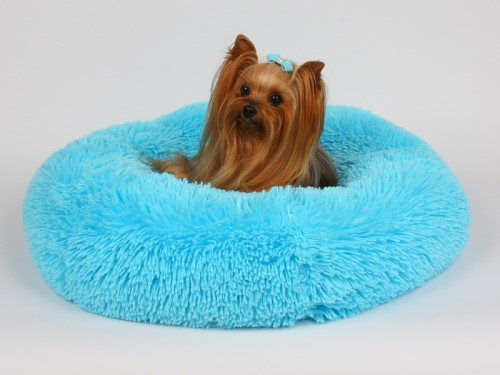 Susan Lanci Shag  Dog Beds in Many Colors