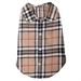 Tan Plaid Dog Shirt  - wd-tan-shirt