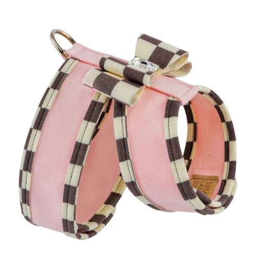 Tinkie Harness with Windsor Big Bow & Trim-Many Colors - sl-tinkiewind