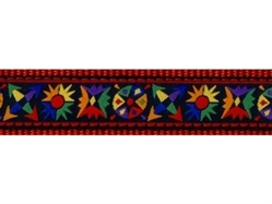 Tribal Collar, Lead & Harness 3/4 inch