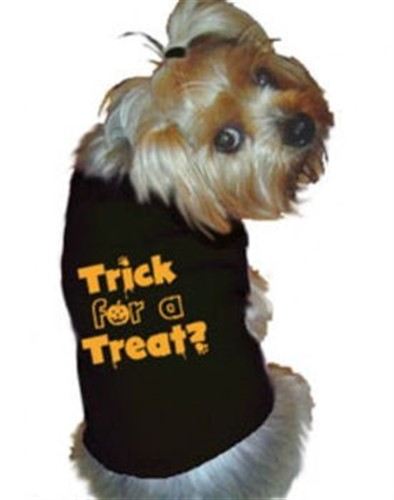 Trick for A Treat Dog Tank Shirt