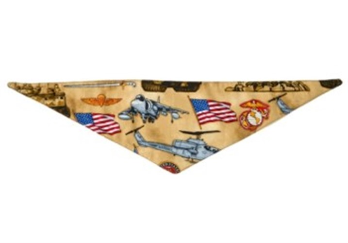 US Marines Dog Bandana  - push-marines