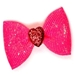 Valentine Sugar Dog Bows in Pink or Blue or Red - cc-sugarB-JZ7