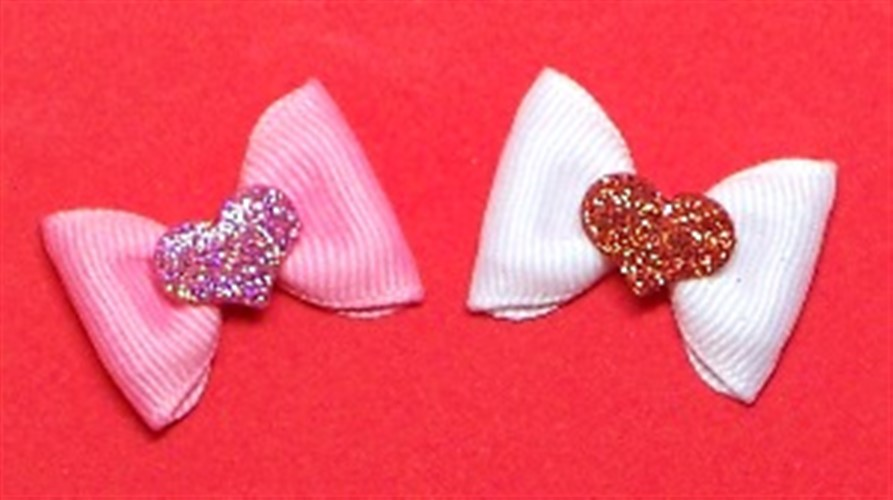 Valentine Sweet Hearts Dog Bows - cc-valentine-bowP-KH4