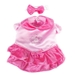 Velvet Princess Crown Costume - pampet-princess