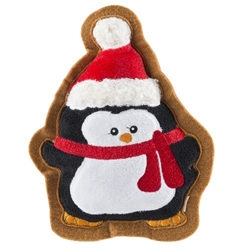 Wagnolia Bakery Penguin Holiday Cookie Toy  Roxy & Lulu, wooflink, susan lanci, dog clothes, small dog clothes, urban pup, pooch outfitters, dogo, hip doggie, doggie design, small dog dress, pet clotes, dog boutique. pet boutique, bloomingtails dog boutique, dog raincoat, dog rain coat, pet raincoat, dog shampoo, pet shampoo, dog bathrobe, pet bathrobe, dog carrier, small dog carrier, doggie couture, pet couture, dog football, dog toys, pet toys, dog clothes sale, pet clothes sale, shop local, pet store, dog store, dog chews, pet chews, worthy dog, dog bandana, pet bandana, dog halloween, pet halloween, dog holiday, pet holiday, dog teepee, custom dog clothes, pet pjs, dog pjs, pet pajamas, dog pajamas,dog sweater, pet sweater, dog hat, fabdog, fab dog, dog puffer coat, dog winter ja