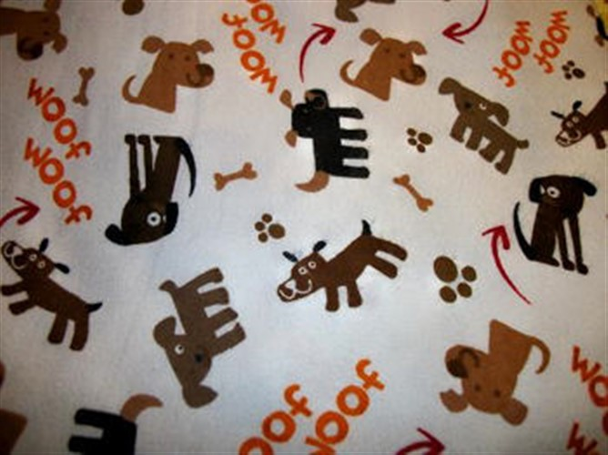 Washable Pee Piddle Pads - Woof Woof