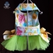 Water Colors Couture Harness Dress - rl-watercolors