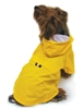 Waterproof Yellow Zippered Dog Raincoat wooflink, susan lanci, dog clothes, small dog clothes, urban pup, pooch outfitters, dogo, hip doggie, doggie design, small dog dress, pet clotes, dog boutique. pet boutique, bloomingtails dog boutique, dog raincoat, dog rain coat, pet raincoat, dog shampoo, pet shampoo, dog bathrobe, pet bathrobe, dog carrier, small dog carrier, doggie couture, pet couture, dog football, dog toys, pet toys, dog clothes sale, pet clothes sale, shop local, pet store, dog store, dog chews, pet chews, worthy dog, dog bandana, pet bandana, dog halloween, pet halloween, dog holiday, pet holiday, dog teepee, custom dog clothes, pet pjs, dog pjs, pet pajamas, dog pajamas,dog sweater, pet sweater, dog hat, fabdog, fab dog, dog puffer coat, dog winter jacket, dog col