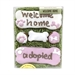 Welcome Home Dog Cookie Box-Customizable-Boy or Girl - br-welcome