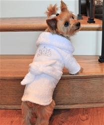 White Silver Tiara Dog Bathrobe  pet clothes, dog clothes, puppy clothes, pet store, dog store, puppy boutique store, dog boutique, pet boutique, puppy boutique, Bloomingtails, dog, small dog clothes, large dog clothes, large dog costumes, small dog costumes, pet stuff, Halloween dog, puppy Halloween, pet Halloween, clothes, dog puppy Halloween, dog sale, pet sale, puppy sale, pet dog tank, pet tank, pet shirt, dog shirt, puppy shirt,puppy tank, I see spot, dog collars, dog leads, pet collar, pet lead,puppy collar, puppy lead, dog toys, pet toys, puppy toy, dog beds, pet beds, puppy bed,  beds,dog mat, pet mat, puppy mat, fab dog pet sweater, dog sweater, dog winter, pet winter,dog raincoat, pet raincoat, dog harness, puppy harness, pet harness, dog collar, dog lead, pet l