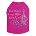 Wine Alot Dog Shirt in Many Colors - dic-winealot