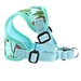 Wrap and Snap Choke Free Harness w/Mesh Lining - Surfboard and Palms - dogdes-surfwrap-harness