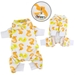 Yellow Ducky Pet Pajamas  - klip-ducky-pjs
