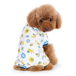 Zoo Pet Pajamas in 2 Colors dog bowls,susan lanci, puppia,wooflink, luxury dog boutique,tonimari,pet clothes, dog clothes, puppy clothes, pet store, dog store, puppy boutique store, dog boutique, pet boutique, puppy boutique, Bloomingtails, dog, small dog clothes, large dog clothes, large dog costumes, small dog costumes, pet stuff, Halloween dog, puppy Halloween, pet Halloween, clothes, dog puppy Halloween, dog sale, pet sale, puppy sale, pet dog tank, pet tank, pet shirt, dog shirt, puppy shirt,puppy tank, I see spot, dog collars, dog leads, pet collar, pet lead,puppy collar, puppy lead, dog toys, pet toys, puppy toy, dog beds, pet beds, puppy bed,  beds,dog mat, pet mat, puppy mat, fab dog pet sweater, dog sweater, dog winter, pet winter,dog raincoat, pet raincoat,