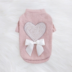 Pearl Heart Dog Sweater kosher, hanukkah, toy, jewish, toy, puppy bed,  beds,dog mat, pet mat, puppy mat, fab dog pet sweater, dog swepet clothes, dog clothes, puppy clothes, pet store, dog store, puppy boutique store, dog boutique, pet boutique, puppy boutique, Bloomingtails, dog, small dog clothes, large dog clothes, large dog costumes, small dog costumes, pet stuff, Halloween dog, puppy Halloween, pet Halloween, clothes, dog puppy Halloween, dog sale, pet sale, puppy sale, pet dog tank, pet tank, pet shirt, dog shirt, puppy shirt,puppy tank, I see spot, dog collars, dog leads, pet collar, pet lead,puppy collar, puppy lead, dog toys, pet toys, puppy toy, dog beds, pet beds, puppy bed,  beds,dog mat, pet mat, puppy mat, fab dog pet sweater, dog sweater, dog winte