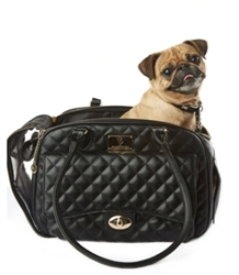 Vanderpump Quilted Black Luxury Carrier