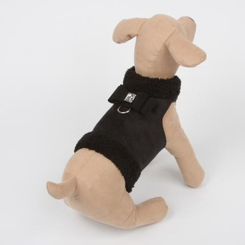Bowzer in Black by Susan Lanci wooflink, susan lanci, dog clothes, small dog clothes, urban pup, pooch outfitters, dogo, hip doggie, doggie design, small dog dress, pet clotes, dog boutique. pet boutique, bloomingtails dog boutique, dog raincoat, dog rain coat, pet raincoat, dog shampoo, pet shampoo, dog bathrobe, pet bathrobe, dog carrier, small dog carrier, doggie couture, pet couture, dog football, dog toys, pet toys, dog clothes sale, pet clothes sale, shop local, pet store, dog store, dog chews, pet chews, worthy dog, dog bandana, pet bandana, dog halloween, pet halloween, dog holiday, pet holiday, dog teepee, custom dog clothes, pet pjs, dog pjs, pet pajamas, dog pajamas,dog sweater, pet sweater, dog hat, fabdog, fab dog, dog puffer coat, dog winter jacket, dog col