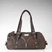 Bond Girl Smuggler Dog Carrier in Chocolate or Black Croco - jc-brownbond