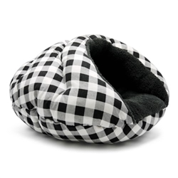 Burger Bed in Black Check  dog bowls,susan lanci, puppia,wooflink, luxury dog boutique,tonimari,pet clothes, dog clothes, puppy clothes, pet store, dog store, puppy boutique store, dog boutique, pet boutique, puppy boutique, Bloomingtails, dog, small dog clothes, large dog clothes, large dog costumes, small dog costumes, pet stuff, Halloween dog, puppy Halloween, pet Halloween, clothes, dog puppy Halloween, dog sale, pet sale, puppy sale, pet dog tank, pet tank, pet shirt, dog shirt, puppy shirt,puppy tank, I see spot, dog collars, dog leads, pet collar, pet lead,puppy collar, puppy lead, dog toys, pet toys, puppy toy, dog beds, pet beds, puppy bed,  beds,dog mat, pet mat, puppy mat, fab dog pet sweater, dog sweater, dog winter, pet winter,dog raincoat, pet raincoat