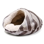 Burger Bed in Brown Stripes wooflink, susan lanci, dog clothes, small dog clothes, urban pup, pooch outfitters, dogo, hip doggie, doggie design, small dog dress, pet clotes, dog boutique. pet boutique, bloomingtails dog boutique, dog raincoat, dog rain coat, pet raincoat, dog shampoo, pet shampoo, dog bathrobe, pet bathrobe, dog carrier, small dog carrier, doggie couture, pet couture, dog football, dog toys, pet toys, dog clothes sale, pet clothes sale, shop local, pet store, dog store, dog chews, pet chews, worthy dog, dog bandana, pet bandana, dog halloween, pet halloween, dog holiday, pet holiday, dog teepee, custom dog clothes, pet pjs, dog pjs, pet pajamas, dog pajamas,dog sweater, pet sweater, dog hat, fabdog, fab dog, dog puffer coat, dog winter jacket, dog col