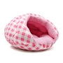 Burger Bed in Pink Check  dog bowls,susan lanci, puppia,wooflink, luxury dog boutique,tonimari,pet clothes, dog clothes, puppy clothes, pet store, dog store, puppy boutique store, dog boutique, pet boutique, puppy boutique, Bloomingtails, dog, small dog clothes, large dog clothes, large dog costumes, small dog costumes, pet stuff, Halloween dog, puppy Halloween, pet Halloween, clothes, dog puppy Halloween, dog sale, pet sale, puppy sale, pet dog tank, pet tank, pet shirt, dog shirt, puppy shirt,puppy tank, I see spot, dog collars, dog leads, pet collar, pet lead,puppy collar, puppy lead, dog toys, pet toys, puppy toy, dog beds, pet beds, puppy bed,  beds,dog mat, pet mat, puppy mat, fab dog pet sweater, dog sweater, dog winter, pet winter,dog raincoat, pet raincoat