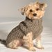 Cable Knit  Pup Sweater in 5 Colors - cd-cableknit