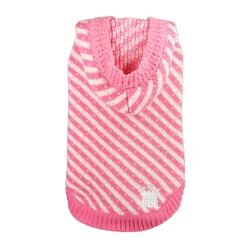 Candy Striped Hooded Dog Sweater kosher, hanukkah, toy, jewish, toy, puppy bed,  beds,dog mat, pet mat, puppy mat, fab dog pet sweater, dog swepet clothes, dog clothes, puppy clothes, pet store, dog store, puppy boutique store, dog boutique, pet boutique, puppy boutique, Bloomingtails, dog, small dog clothes, large dog clothes, large dog costumes, small dog costumes, pet stuff, Halloween dog, puppy Halloween, pet Halloween, clothes, dog puppy Halloween, dog sale, pet sale, puppy sale, pet dog tank, pet tank, pet shirt, dog shirt, puppy shirt,puppy tank, I see spot, dog collars, dog leads, pet collar, pet lead,puppy collar, puppy lead, dog toys, pet toys, puppy toy, dog beds, pet beds, puppy bed,  beds,dog mat, pet mat, puppy mat, fab dog pet sweater, dog sweater, dog winte