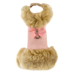 Champagne Fox Fur Coat with Nouveau Bow Roxy & Lulu, wooflink, susan lanci, dog clothes, small dog clothes, urban pup, pooch outfitters, dogo, hip doggie, doggie design, small dog dress, pet clotes, dog boutique. pet boutique, bloomingtails dog boutique, dog raincoat, dog rain coat, pet raincoat, dog shampoo, pet shampoo, dog bathrobe, pet bathrobe, dog carrier, small dog carrier, doggie couture, pet couture, dog football, dog toys, pet toys, dog clothes sale, pet clothes sale, shop local, pet store, dog store, dog chews, pet chews, worthy dog, dog bandana, pet bandana, dog halloween, pet halloween, dog holiday, pet holiday, dog teepee, custom dog clothes, pet pjs, dog pjs, pet pajamas, dog pajamas,dog sweater, pet sweater, dog hat, fabdog, fab dog, dog puffer coat, dog winter ja