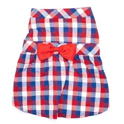 Red/White/Blue Check Dress kosher, hanukkah, toy, jewish, toy, puppy bed,  beds,dog mat, pet mat, puppy mat, fab dog pet sweater, dog swepet clothes, dog clothes, puppy clothes, pet store, puppy boutique, worthy dog,Bloomingtails, dog, small dog clothes, large dog clothes, large dog costumes, small dog costumes, pet stuff, Halloween dog, puppy Halloween, pet Halloween, clothes, dog puppy Halloween, dog sale, pet sale, puppy sale, pet dog tank, pet tank, pet shirt, dog shirt, puppy shirt,puppy tank, I see spot, dog collars, dog leads, pet collar, pet lead,puppy collar, puppy lead, dog toys, pet toys, puppy toy, dog beds, pet beds, puppy bed,  beds,dog mat, pet mat, puppy mat, fab dog pet sweater, dog sweater, dog winte