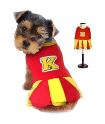 Cheerleader Dog Costume wooflink,jcla boutique, dog carrier, dog purse, pet carrier, pet purse, dog boutique, pet boutique, funari, pet store, dog store, travel dog bags, travel pet bags, haute diggity dog, susan lanci, airbuggy, pet travel help, bond girl smuggler