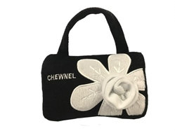 CHEWNEL Fleur Blanche Dog Toy Bag wooflink, susan lanci, dog clothes, small dog clothes, urban pup, pooch outfitters, dogo, hip doggie, doggie design, small dog dress, pet clotes, dog boutique. pet boutique, bloomingtails dog boutique, dog raincoat, dog rain coat, pet raincoat, dog shampoo, pet shampoo, dog bathrobe, pet bathrobe, dog carrier, small dog carrier, doggie couture, pet couture, dog football, dog toys, pet toys, dog clothes sale, pet clothes sale, shop local, pet store, dog store, dog chews, pet chews, worthy dog, dog bandana, pet bandana, dog halloween, pet halloween, dog holiday, pet holiday, dog teepee, custom dog clothes, pet pjs, dog pjs, pet pajamas, dog pajamas,dog sweater, pet sweater, dog hat, fabdog, fab dog, dog puffer coat, dog winter jacket, dog col