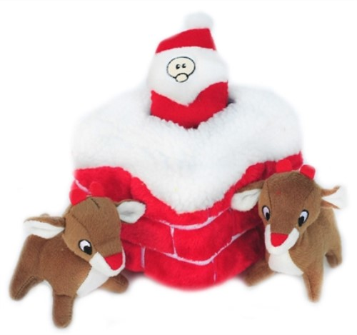 Holiday Burrow Toy-Chimney or Reindeer Pen