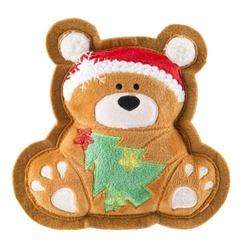 Wagnolia Bakery Christmas Bear Holiday Cookie Toy Roxy & Lulu, wooflink, susan lanci, dog clothes, small dog clothes, urban pup, pooch outfitters, dogo, hip doggie, doggie design, small dog dress, pet clotes, dog boutique. pet boutique, bloomingtails dog boutique, dog raincoat, dog rain coat, pet raincoat, dog shampoo, pet shampoo, dog bathrobe, pet bathrobe, dog carrier, small dog carrier, doggie couture, pet couture, dog football, dog toys, pet toys, dog clothes sale, pet clothes sale, shop local, pet store, dog store, dog chews, pet chews, worthy dog, dog bandana, pet bandana, dog halloween, pet halloween, dog holiday, pet holiday, dog teepee, custom dog clothes, pet pjs, dog pjs, pet pajamas, dog pajamas,dog sweater, pet sweater, dog hat, fabdog, fab dog, dog puffer coat, dog winter ja