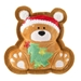 Wagnolia Bakery Christmas Bear Holiday Cookie Toy - hdd-bear-toy