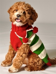Christmas Elf Sweater wooflink, susan lanci, dog clothes, small dog clothes, urban pup, pooch outfitters, dogo, hip doggie, doggie design, small dog dress, pet clotes, dog boutique. pet boutique, bloomingtails dog boutique, dog raincoat, dog rain coat, pet raincoat, dog shampoo, pet shampoo, dog bathrobe, pet bathrobe, dog carrier, small dog carrier, doggie couture, pet couture, dog football, dog toys, pet toys, dog clothes sale, pet clothes sale, shop local, pet store, dog store, dog chews, pet chews, worthy dog, dog bandana, pet bandana, dog halloween, pet halloween, dog holiday, pet holiday, dog teepee, custom dog clothes, pet pjs, dog pjs, pet pajamas, dog pajamas,dog sweater, pet sweater, dog hat, fabdog, fab dog, dog puffer coat, dog winter jacket, dog col
