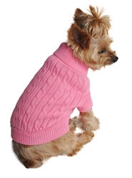 Combed Cotton Sweater in Candy Pink Roxy & Lulu, wooflink, susan lanci, dog clothes, small dog clothes, urban pup, pooch outfitters, dogo, hip doggie, doggie design, small dog dress, pet clotes, dog boutique. pet boutique, bloomingtails dog boutique, dog raincoat, dog rain coat, pet raincoat, dog shampoo, pet shampoo, dog bathrobe, pet bathrobe, dog carrier, small dog carrier, doggie couture, pet couture, dog football, dog toys, pet toys, dog clothes sale, pet clothes sale, shop local, pet store, dog store, dog chews, pet chews, worthy dog, dog bandana, pet bandana, dog halloween, pet halloween, dog holiday, pet holiday, dog teepee, custom dog clothes, pet pjs, dog pjs, pet pajamas, dog pajamas,dog sweater, pet sweater, dog hat, fabdog, fab dog, dog puffer coat, dog winter ja