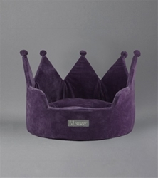Crown Bed in Purple dog bed,wooflink, susan lanci, dog clothes, small dog clothes, urban pup, pooch outfitters, dogo, hip doggie, doggie design, small dog dress, pet clotes, dog boutique. pet boutique, bloomingtails dog boutique, dog raincoat, dog rain coat, pet raincoat, dog shampoo, pet shampoo, dog bathrobe, pet bathrobe, dog carrier, small dog carrier, doggie couture, pet couture, dog football, dog toys, pet toys, dog clothes sale, pet clothes sale, shop local, pet store, dog store, dog chews, pet chews, worthy dog, dog bandana, pet bandana, dog halloween, pet halloween, dog holiday, pet holiday