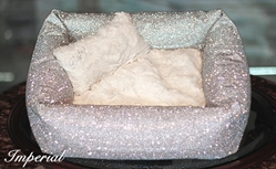 Crystal Bed-Prima & Imperial-2 Glamorous Choices dog bowls,susan lanci, puppia,wooflink, luxury dog boutique,tonimari,pet clothes, dog clothes, puppy clothes, pet store, dog store, puppy boutique store, dog boutique, pet boutique, puppy boutique, Bloomingtails, dog, small dog clothes, large dog clothes, large dog costumes, small dog costumes, pet stuff, Halloween dog, puppy Halloween, pet Halloween, clothes, dog puppy Halloween, dog sale, pet sale, puppy sale, pet dog tank, pet tank, pet shirt, dog shirt, puppy shirt,puppy tank, I see spot, dog collars, dog leads, pet collar, pet lead,puppy collar, puppy lead, dog toys, pet toys, puppy toy, dog beds, pet beds, puppy bed,  beds,dog mat, pet mat, puppy mat, fab dog pet sweater, dog sweater, dog winter, pet winter,dog raincoat, pet raincoat,