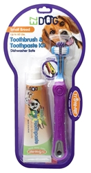 Triple Pet EZDog Dental Kit -Toothbrush and Toothpaste puppy bed,  beds,dog mat, pet mat, puppy mat, fab dog pet sweater, dog swepet clothes, dog clothes, puppy clothes, pet store, dog store, puppy boutique store, dog boutique, pet boutique, puppy boutique, Bloomingtails, dog, small dog clothes, large dog clothes, large dog costumes, small dog costumes, pet stuff, Halloween dog, puppy Halloween, pet Halloween, clothes, dog puppy Halloween, dog sale, pet sale, puppy sale, pet dog tank, pet tank, pet shirt, dog shirt, puppy shirt,puppy tank, I see spot, dog collars, dog leads, pet collar, pet lead,puppy collar, puppy lead, dog toys, pet toys, puppy toy, dog beds, pet beds, puppy bed,  beds,dog mat, pet mat, puppy mat, fab dog pet sweater, dog sweater, dog winter, pet winter,dog raincoat, pet rain