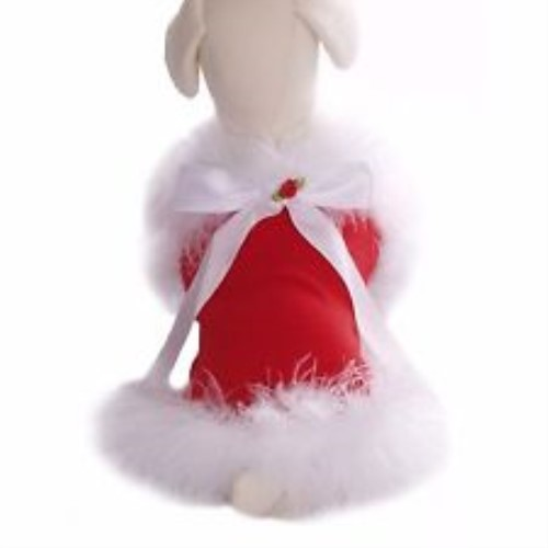 Doggie Clause Harness Dress and Lead Set