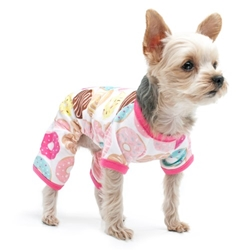 Donut Pjs Roxy & Lulu, wooflink, susan lanci, dog clothes, small dog clothes, urban pup, pooch outfitters, dogo, hip doggie, doggie design, small dog dress, pet clotes, dog boutique. pet boutique, bloomingtails dog boutique, dog raincoat, dog rain coat, pet raincoat, dog shampoo, pet shampoo, dog bathrobe, pet bathrobe, dog carrier, small dog carrier, doggie couture, pet couture, dog football, dog toys, pet toys, dog clothes sale, pet clothes sale, shop local, pet store, dog store, dog chews, pet chews, worthy dog, dog bandana, pet bandana, dog halloween, pet halloween, dog holiday, pet holiday, dog teepee, custom dog clothes, pet pjs, dog pjs, pet pajamas, dog pajamas,dog sweater, pet sweater, dog hat, fabdog, fab dog, dog puffer coat, dog winter ja