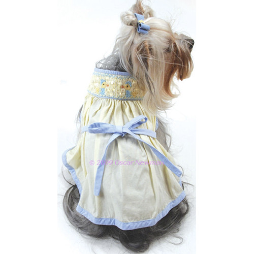 Duckie Hand Smocked Dress - on-duckie