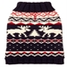 Fairaisle Moose Dog Sweater - fab-moosenavy