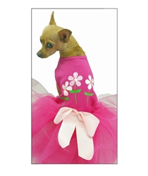 Fuchsia with Flowers Dog Dress wooflink, susan lanci, dog clothes, small dog clothes, urban pup, pooch outfitters, dogo, hip doggie, doggie design, small dog dress, pet clotes, dog boutique. pet boutique, bloomingtails dog boutique, dog raincoat, dog rain coat, pet raincoat, dog shampoo, pet shampoo, dog bathrobe, pet bathrobe, dog carrier, small dog carrier, doggie couture, pet couture, dog football, dog toys, pet toys, dog clothes sale, pet clothes sale, shop local, pet store, dog store, dog chews, pet chews, worthy dog, dog bandana, pet bandana, dog halloween, pet halloween, dog holiday, pet holiday, dog teepee, custom dog clothes, pet pjs, dog pjs, pet pajamas, dog pajamas,dog sweater, pet sweater, dog hat, fabdog, fab dog, dog puffer coat, dog winter jacket, dog col