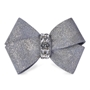 Platinum Glitzerati Nouveau Bow Hair Bow Roxy & Lulu, wooflink, susan lanci, dog clothes, small dog clothes, urban pup, pooch outfitters, dogo, hip doggie, doggie design, small dog dress, pet clotes, dog boutique. pet boutique, bloomingtails dog boutique, dog raincoat, dog rain coat, pet raincoat, dog shampoo, pet shampoo, dog bathrobe, pet bathrobe, dog carrier, small dog carrier, doggie couture, pet couture, dog football, dog toys, pet toys, dog clothes sale, pet clothes sale, shop local, pet store, dog store, dog chews, pet chews, worthy dog, dog bandana, pet bandana, dog halloween, pet halloween, dog holiday, pet holiday, dog teepee, custom dog clothes, pet pjs, dog pjs, pet pajamas, dog pajamas,dog sweater, pet sweater, dog hat, fabdog, fab dog, dog puffer coat, dog winter ja
