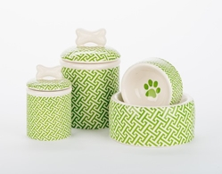 Green Trellis Dog Bowls & Treat Jars  puppy bed,  bedsdog mat, pet mat, puppy mat, fab dog pet sweater, dog swepet clothes, dog clothes, puppy clothes, pet store, dog store, puppy boutique store, dog boutique, pet boutique, puppy boutique, Bloomingtails, dog, small dog clothes, large dog clothes, large dog costumes, small dog costumes, pet stuff, Halloween dog, puppy Halloween, pet Halloween, clothes, dog puppy Halloween, dog sale, pet sale, puppy sale, pet dog tank, pet tank, pet shirt, dog shirt, puppy shirt,puppy tank, I see spot, dog collars, dog leads, pet collar, pet lead,puppy collar, puppy lead, dog toys, pet toys, puppy toy, dog beds, pet beds, puppy bed,  beds,dog mat, pet mat, puppy mat, fab dog pet sweater, dog sweater, dog winter, pet winter,dog raincoat, pet rai
