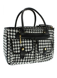 Houndstooth Dog Carrier