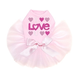I Love You Tutu Collection in 3 Colors wooflink, susan lanci, dog clothes, small dog clothes, urban pup, pooch outfitters, dogo, hip doggie, doggie design, small dog dress, pet clotes, dog boutique. pet boutique, bloomingtails dog boutique, dog raincoat, dog rain coat, pet raincoat, dog shampoo, pet shampoo, dog bathrobe, pet bathrobe, dog carrier, small dog carrier, doggie couture, pet couture, dog football, dog toys, pet toys, dog clothes sale, pet clothes sale, shop local, pet store, dog store, dog chews, pet chews, worthy dog, dog bandana, pet bandana, dog halloween, pet halloween, dog holiday, pet holiday, dog teepee, custom dog clothes, pet pjs, dog pjs, pet pajamas, dog pajamas,dog sweater, pet sweater, dog hat, fabdog, fab dog, dog puffer coat, dog winter jacket, dog col