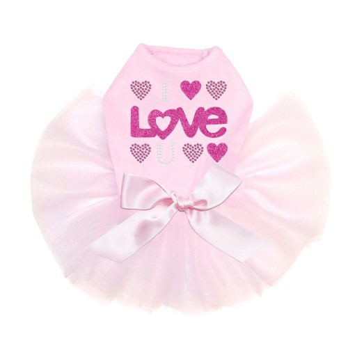 I Love You Tutu Collection in 3 Colors - dic-loveyou